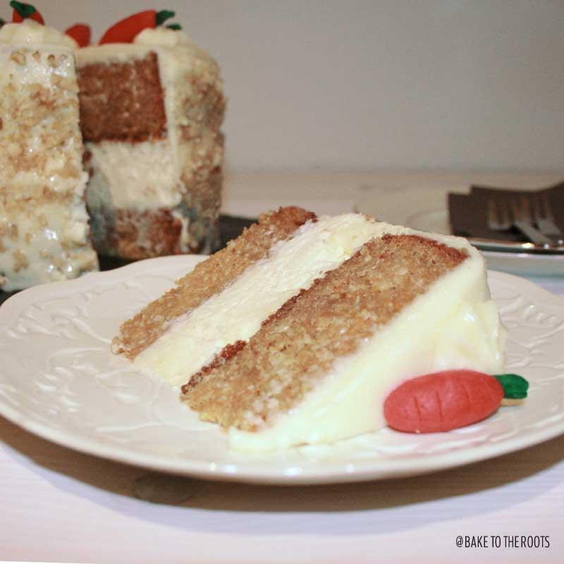 Carrotcake Cheesecake Cake | Bake to the roots