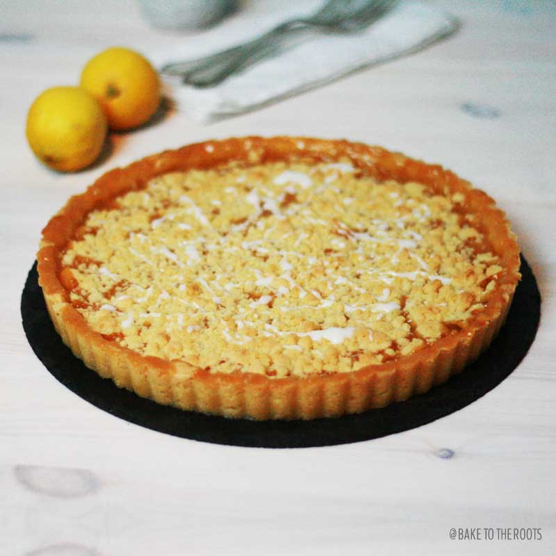 Lemon Streusel Tarte | Bake to the roots