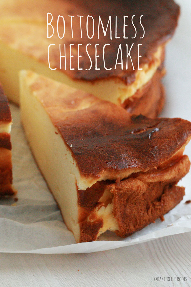 Bottomless Cheesecake | Bake to the roots