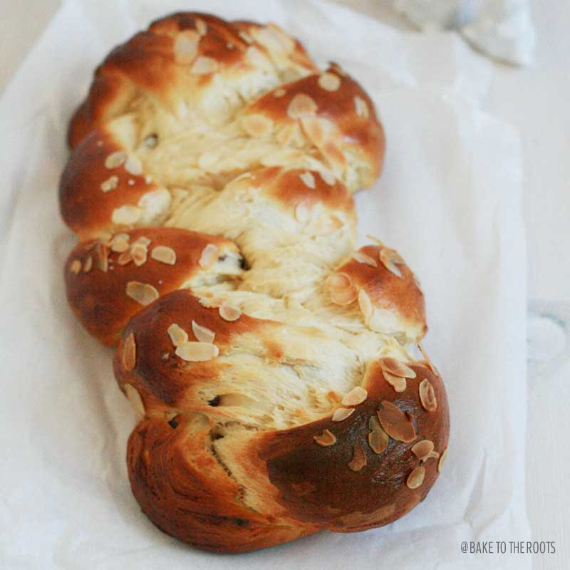 Sweet Braided Loaf | Bake to the roots