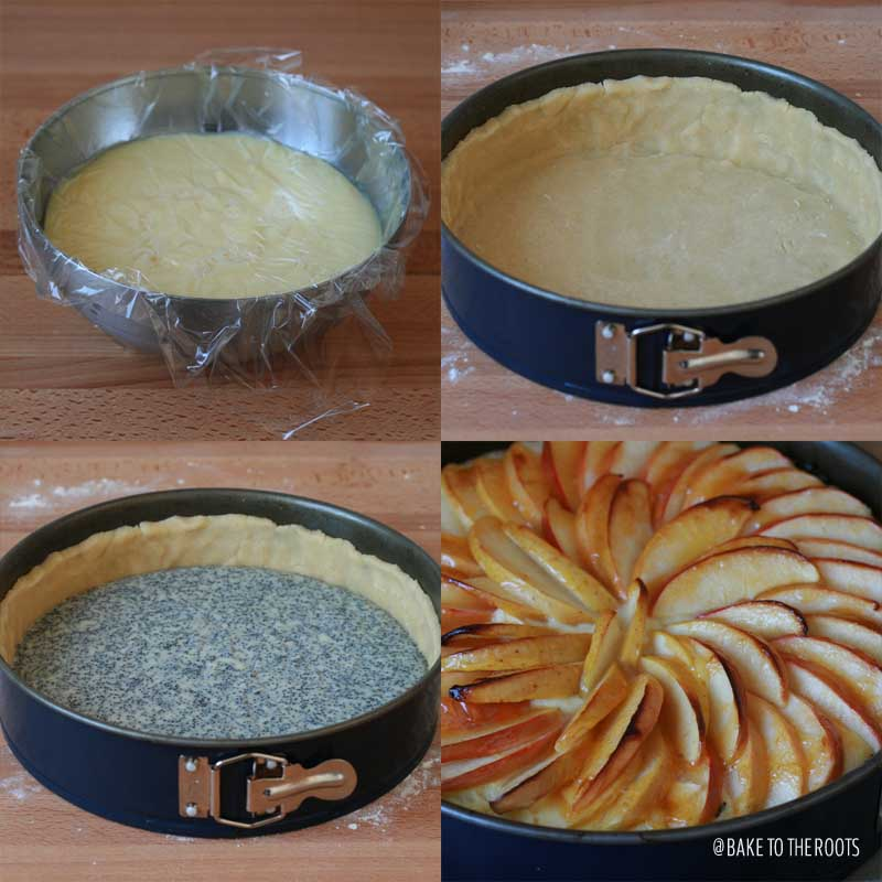 Apple Poppy Seed Cake | Bake to the roots
