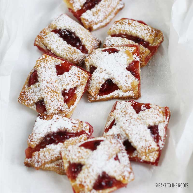 Feine Linzer Plätzchen | Bake to the roots
