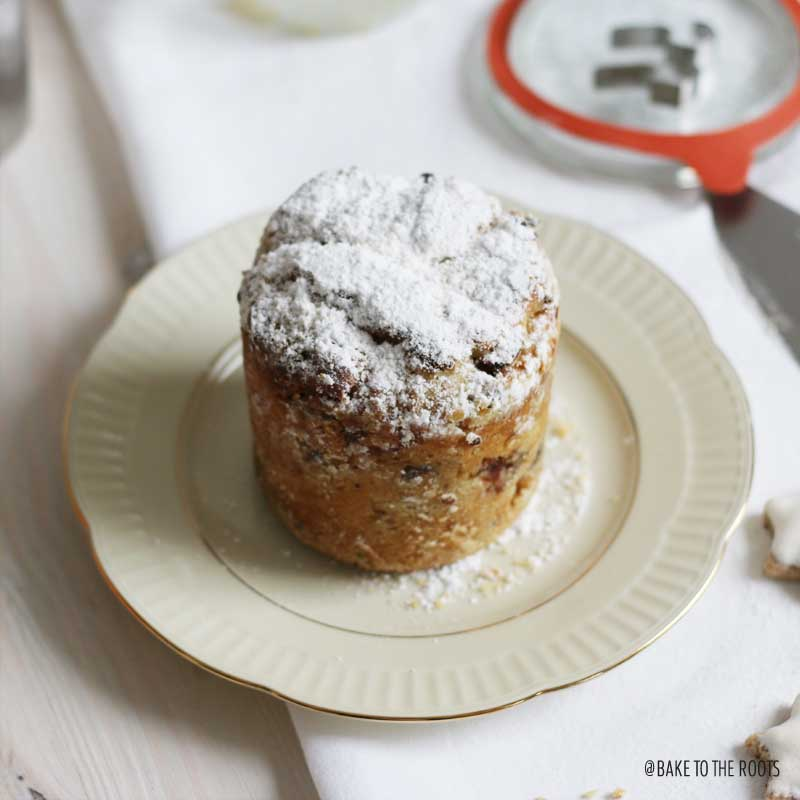 Christstollen im Glas | Bake to the roots