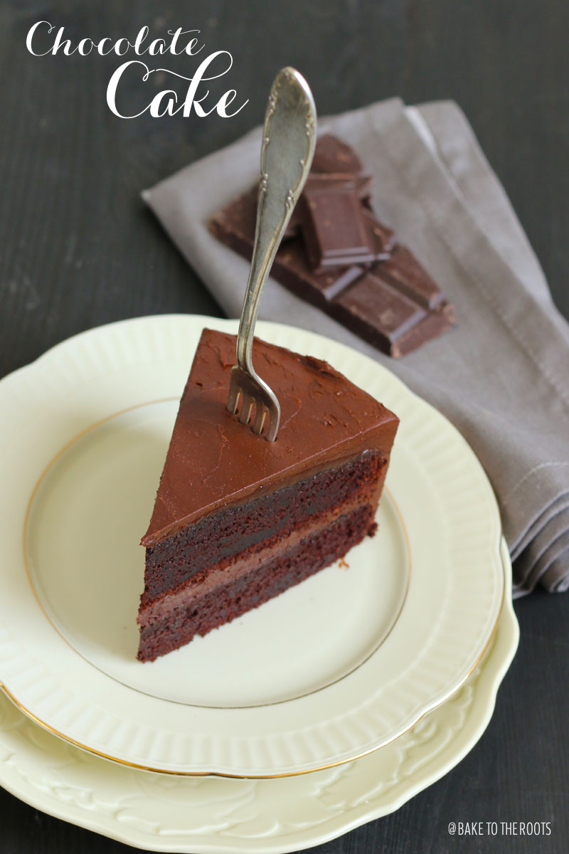 Chocolate Cake | Bake to the roots