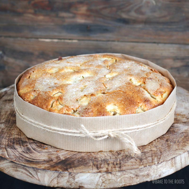 Irish Apple Cake | Bake to the roots