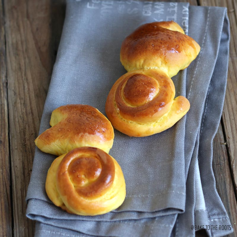Easter Brioche Bunnies with Saffron | Bake to the roots