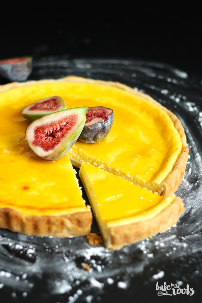 Ricotta Tart with Honey and Figs – Bake to the roots