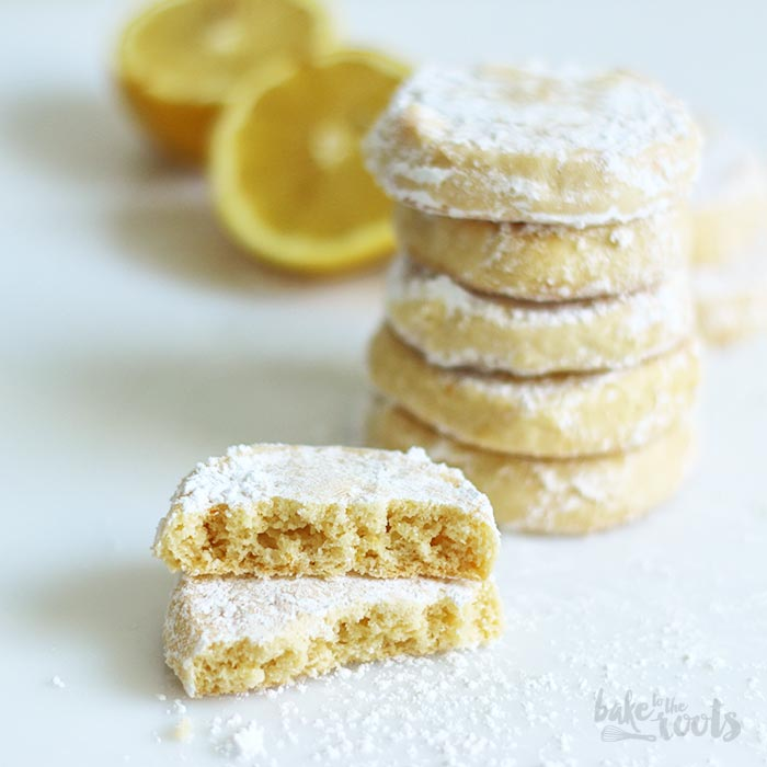 Lemon Meltaway Cookies | Bake to the roots Lemon Meltaway Cookies ...