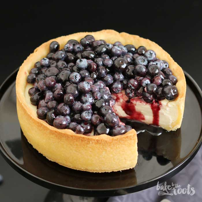 Blueberry Cheesecake | Bake to the roots