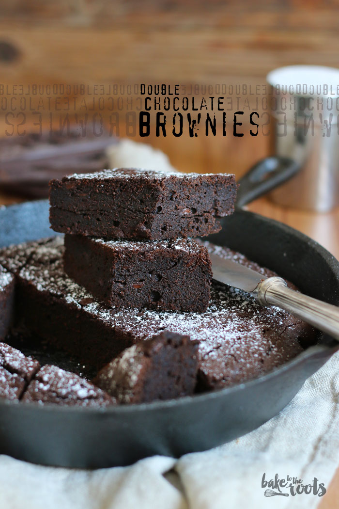 Double Chocolate Brownies | Bake to the roots