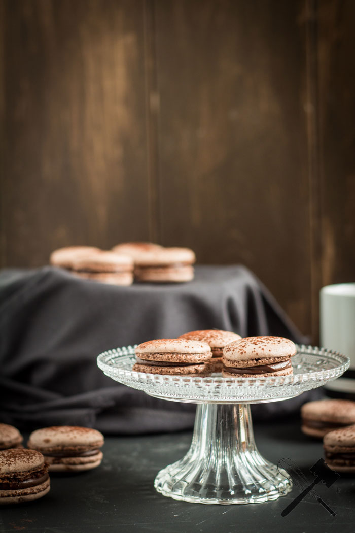 "Schokoladen Macarons | Cookie Friday mit ""Law of Baking"""