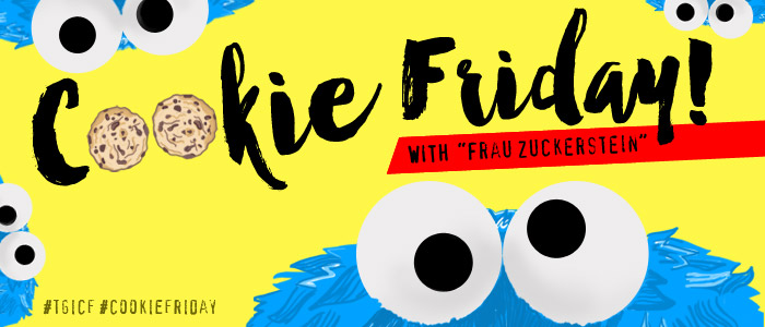 "Cookie Friday with ""Frau Zuckerstein"""