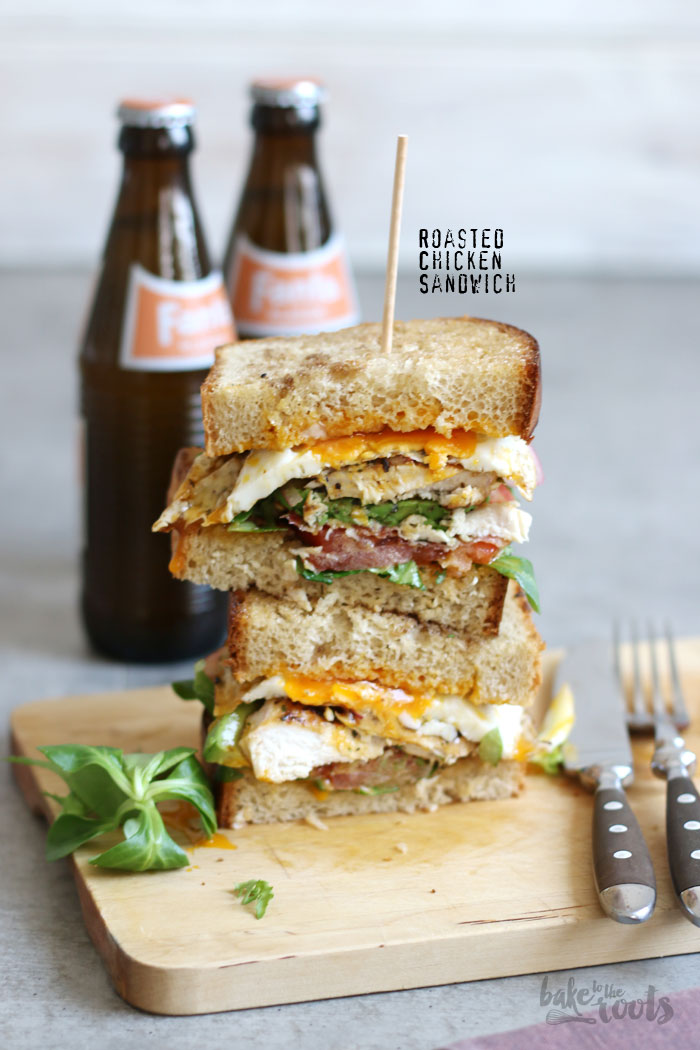 Roasted Chicken Sandwich | Bake to the roots