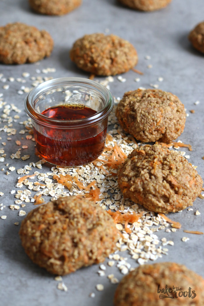 Carrot Oat Cookies | Bake to the roots