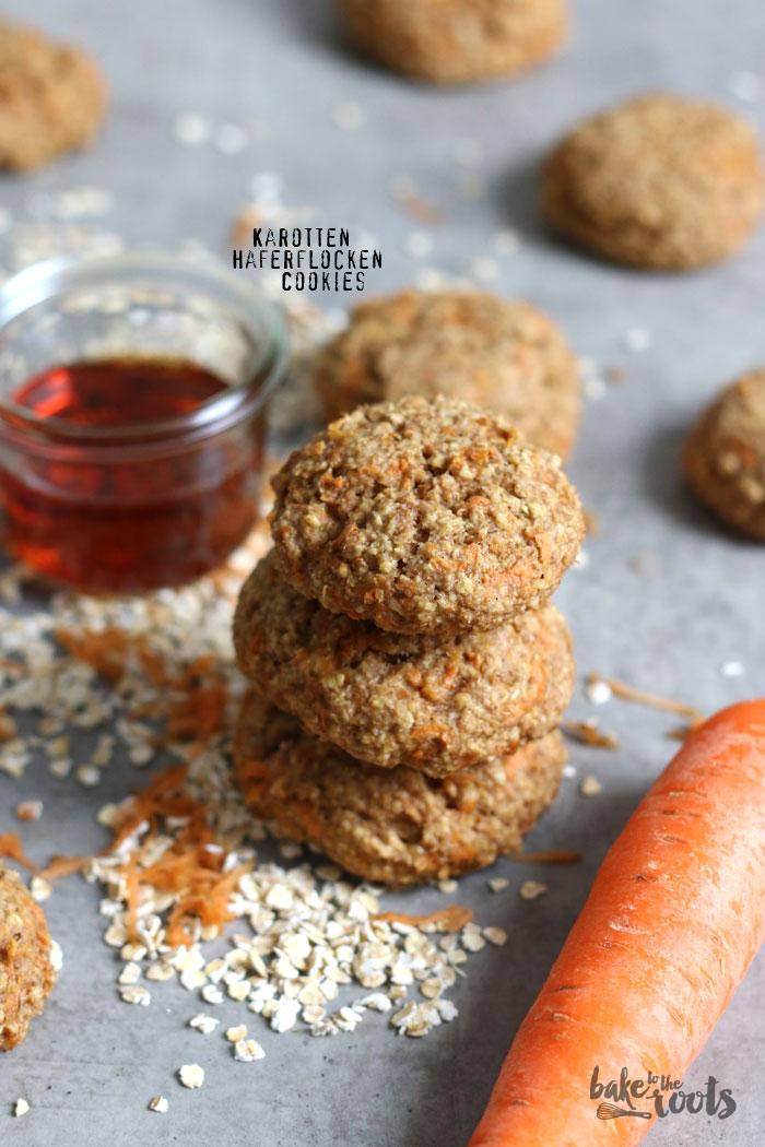 Karotten Haferflocken Cookies | Bake to the roots