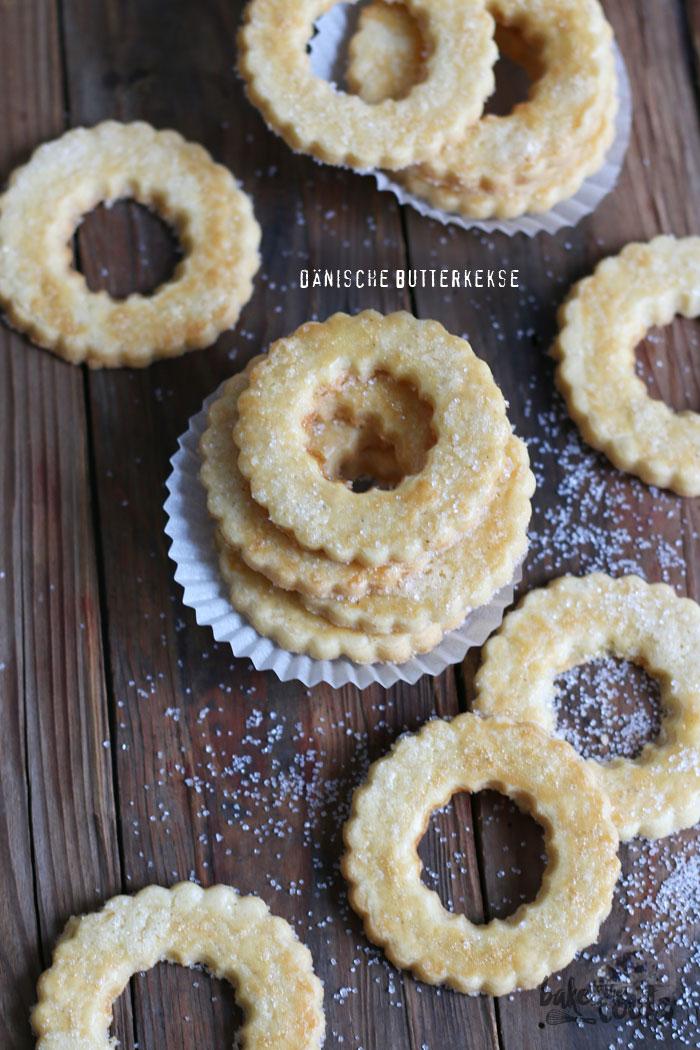Dänische Butterkekse | Bake to the roots