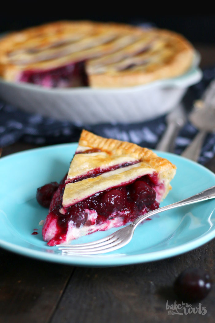 cherry cheesecake pie bake to the roots. Black Bedroom Furniture Sets. Home Design Ideas