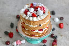 Eton Mess Cake | Bake to the roots