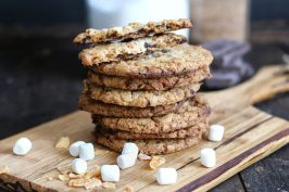 Chocolate Chip Cornflake Crunch Cookies | Bake to the roots