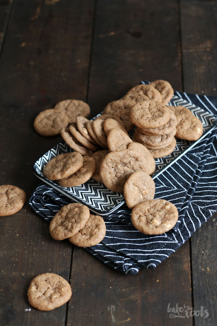 Mini White Chocolate Nutella Cookies (Munchkins) – Bake to the roots