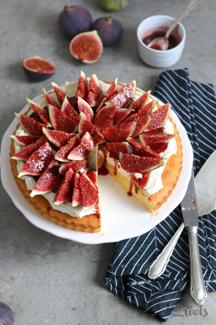 Polenta Cake with Mascarpone Cream and Fresh Figs – Bake to the ...