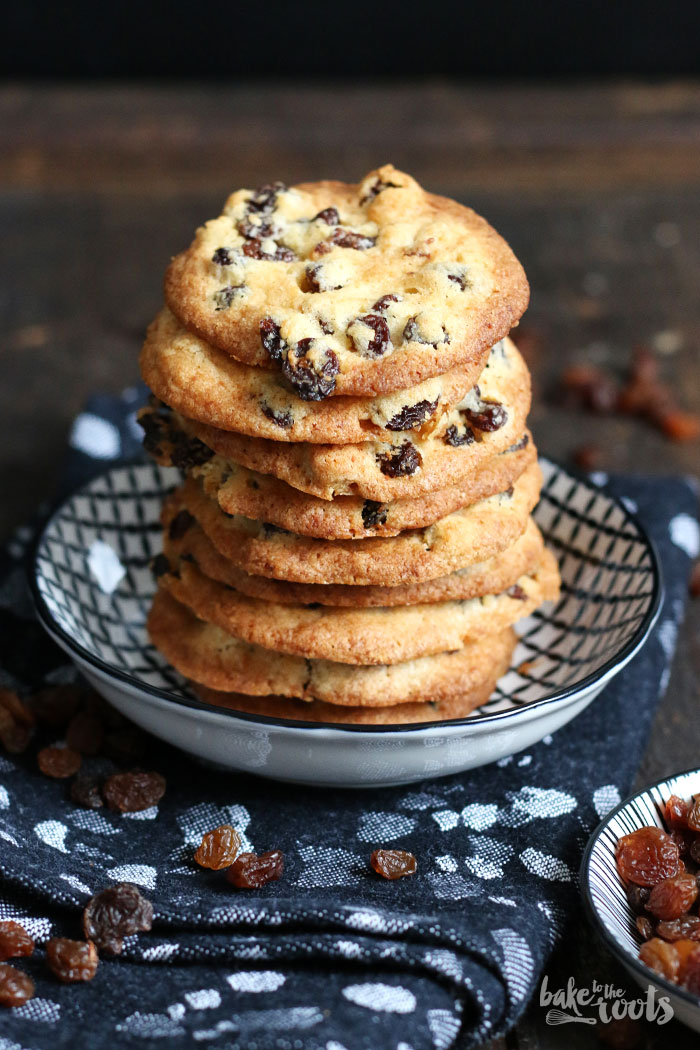 Rum Raisin Cookies | Bake to the roots