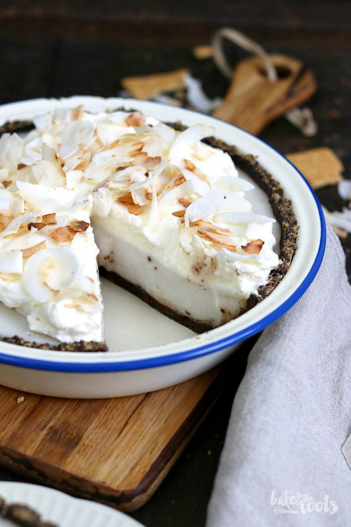 chocolate coconut cream pie bake to the roots. Black Bedroom Furniture Sets. Home Design Ideas