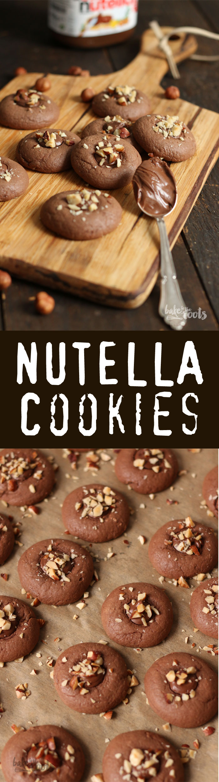 Delicious and easy to make Nutella Cookies | Bake to the roots