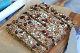 Granola Energy Bars | Bake to the roots