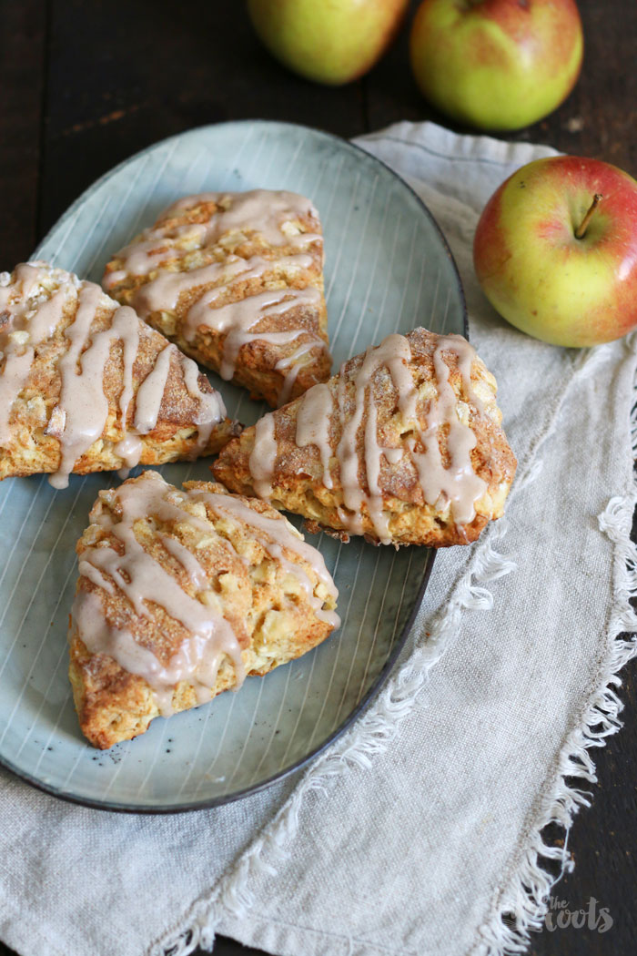 Apple Pie Scones | Bake to the roots