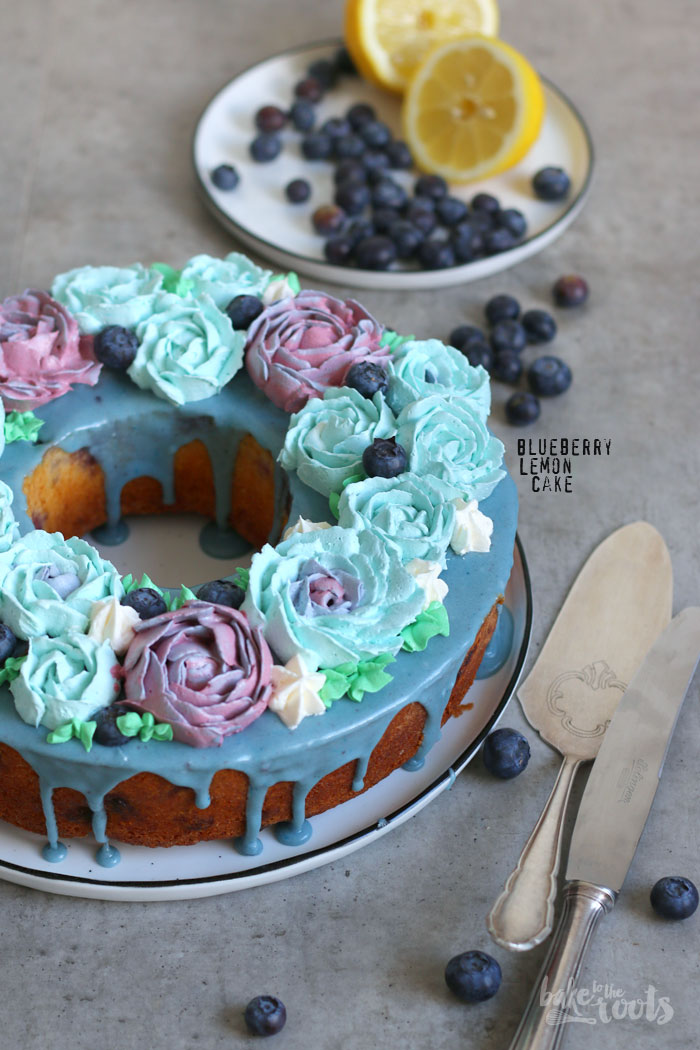 Blueberry Lemon Cake | Bake to the roots