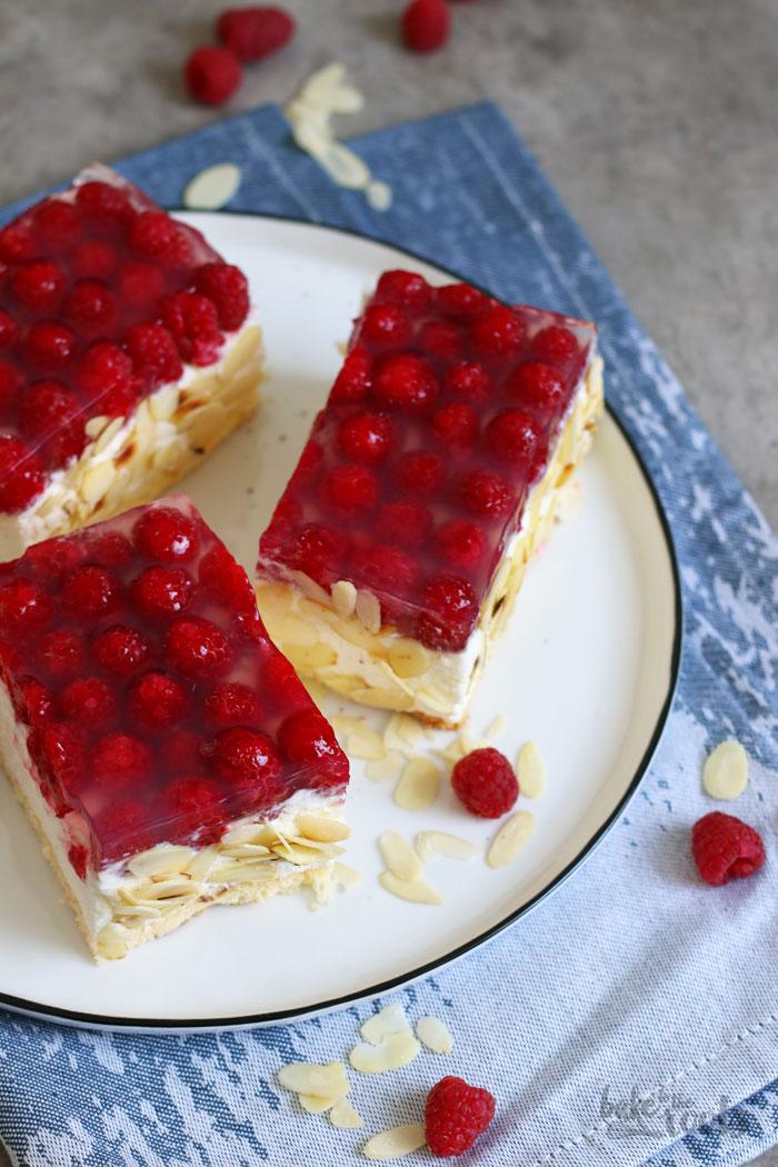Quark Himberschnitten   Bake to the roots