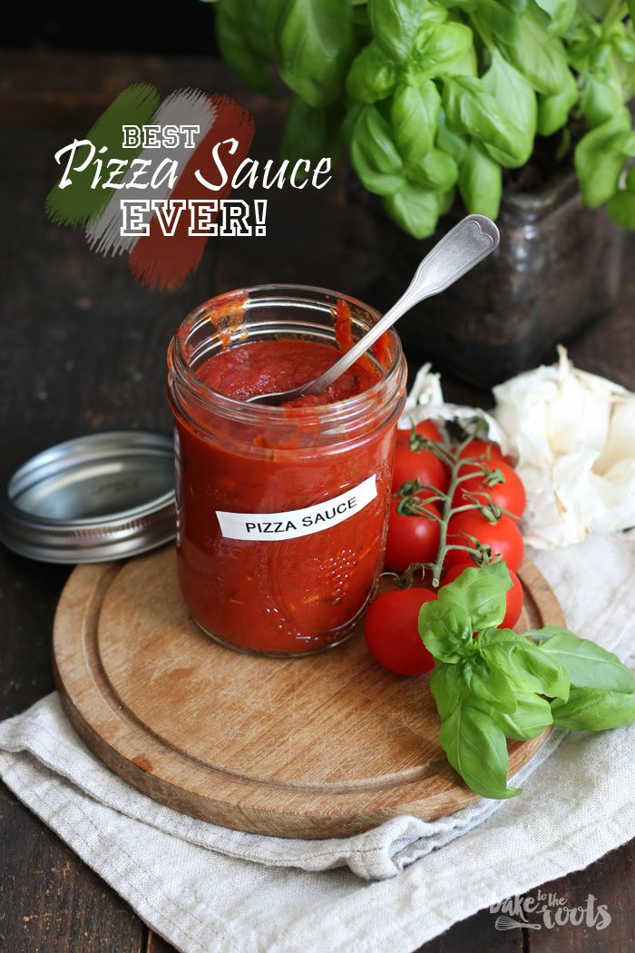 Best Pizza Sauce EVER | Bake to the roots