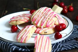 Amarena Cherry Cookies | Bake to the roots