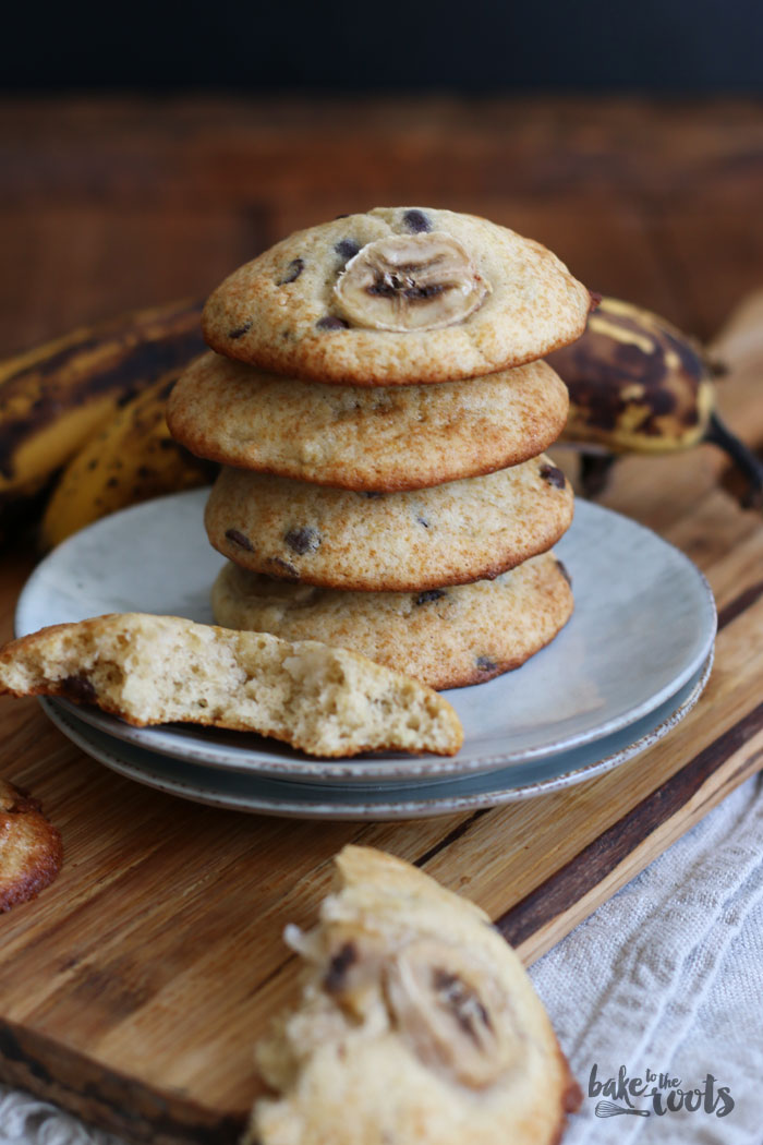 Banana Chocolate Chip Cookies | Bake to the roots