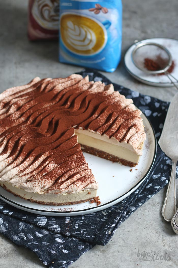no bake cappuccino cheesecake bake to the roots. Black Bedroom Furniture Sets. Home Design Ideas