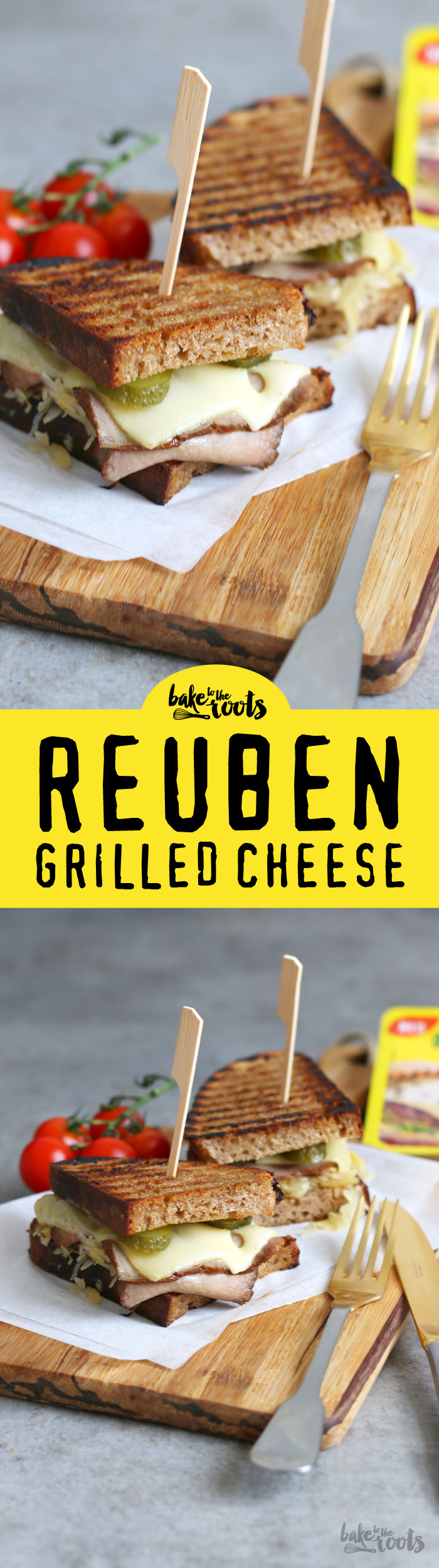 Delicious Reuben Grilled Cheese | Bake to the roots