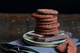 Chocolate Espresso Biscuits | Bake to the roots