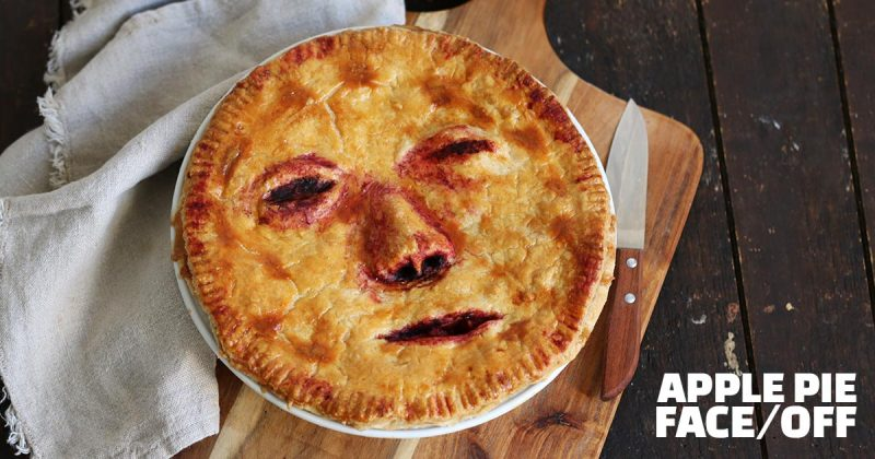 Halloween Apple Pie Quot Face Off Quot Bake To The Roots