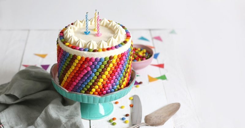 Incredible Colorful Birthday Cake Gluten Free Bake To The Roots Funny Birthday Cards Online Fluifree Goldxyz