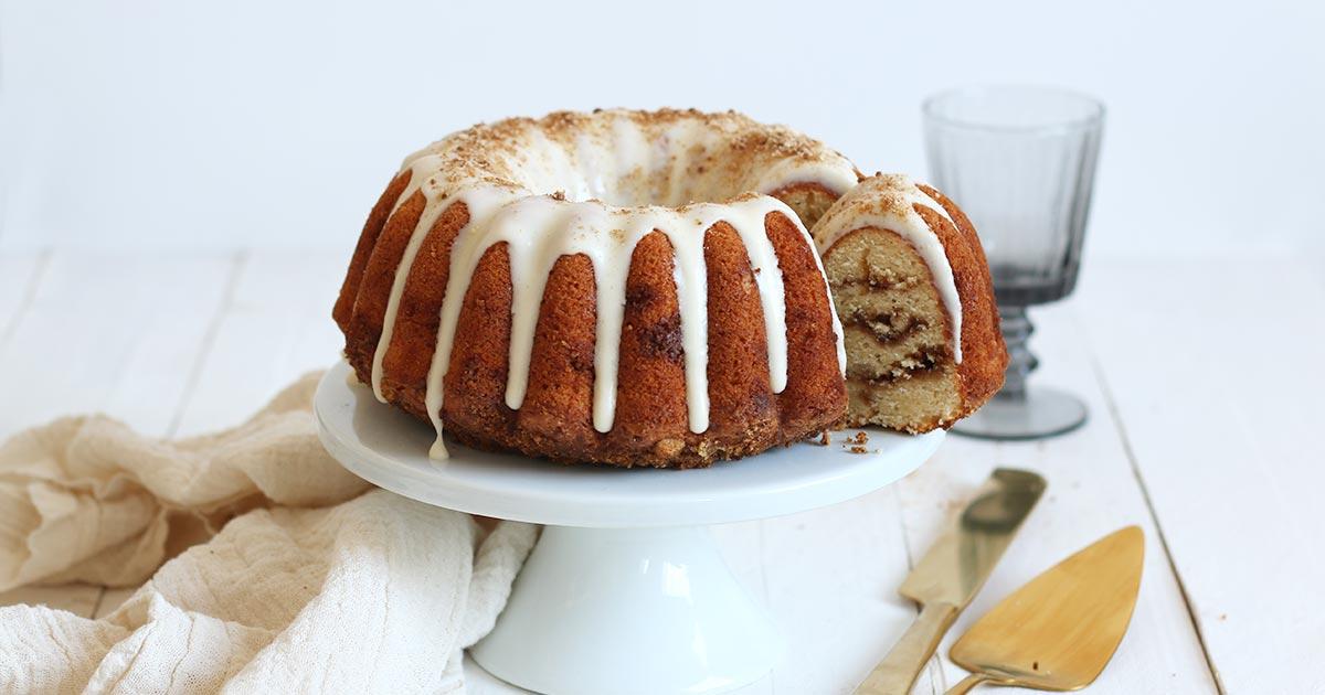 Zimtschnecken Gugelhupf | Bake to the roots